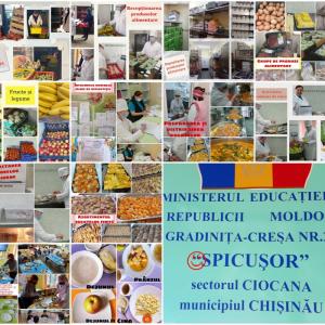 Organizarea alimentației copiilor în instituția de educație timpurie include un complex de măsuri