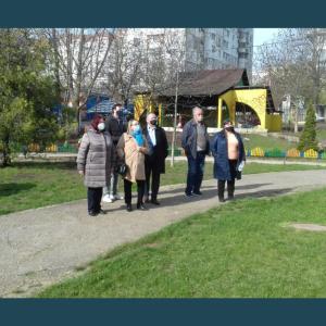 """Proiectul """"Eficiența energetică și izolarea termică a instituțiilor publice din mun. Chișinău"""" a fost discutat în cadrul vizitei dna Angela Cutasevici, viceprimarul mun. Chișinău"""